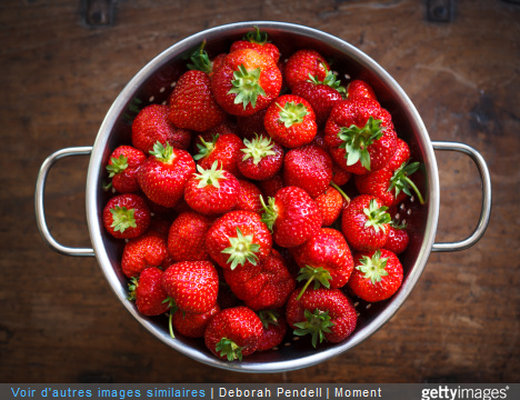 Les fraises au brocciu est une recette de dessert aux fraises très simple à réaliser.