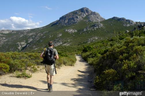 La montagne Corse offre un grand choix de randonnées