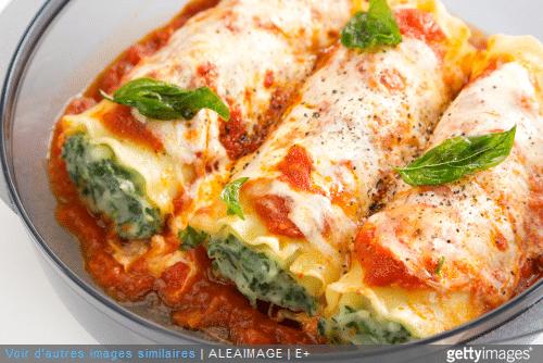 Avec une sauce béchamel ou tomate, les cannelloni au brocciu sont typiques de la cuisine corse.